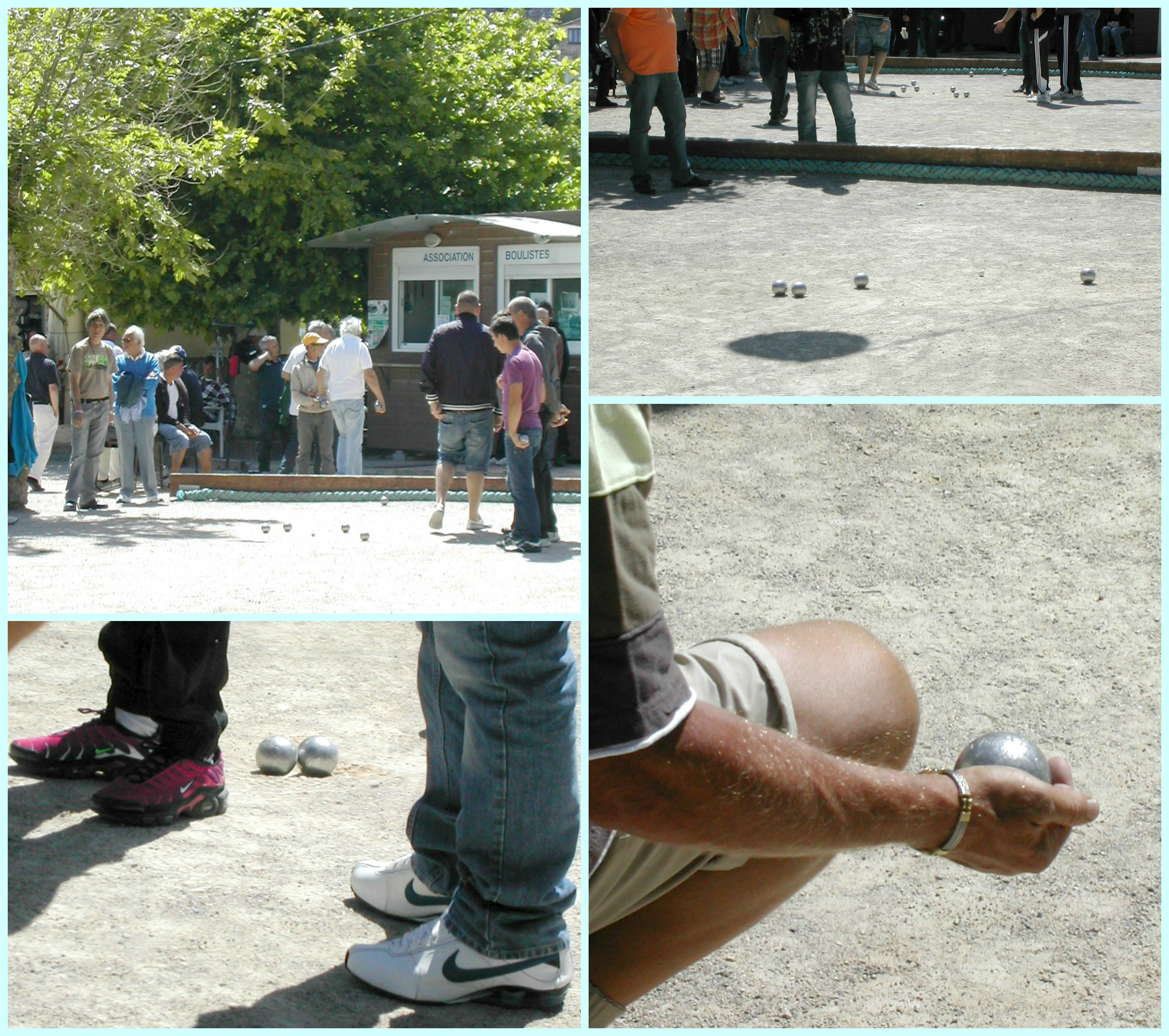Boules Collage