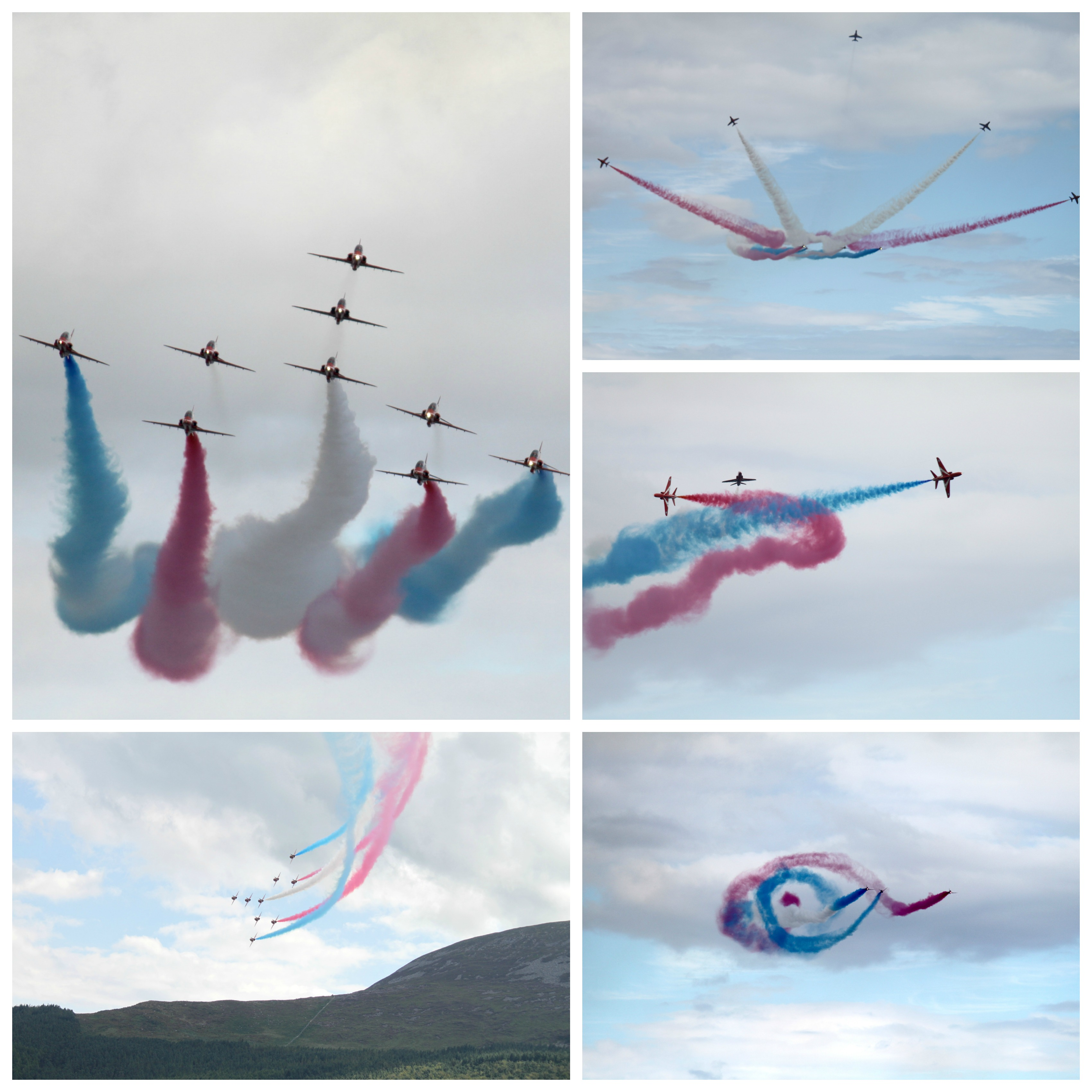 Red Arrows Collage