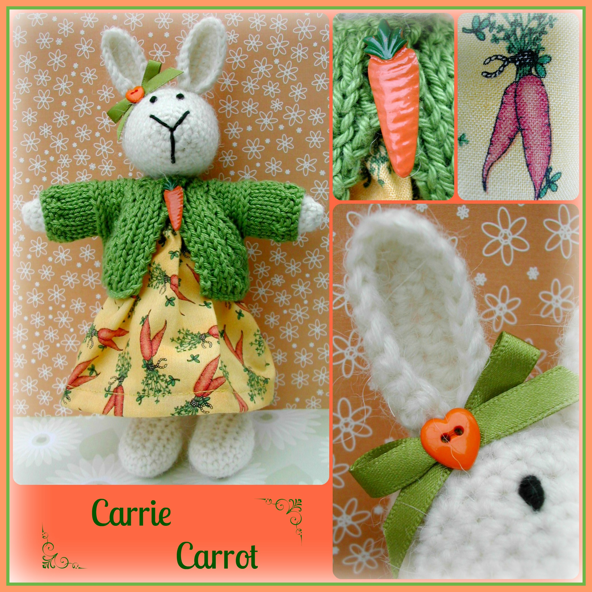 Carrie Carrot Collage