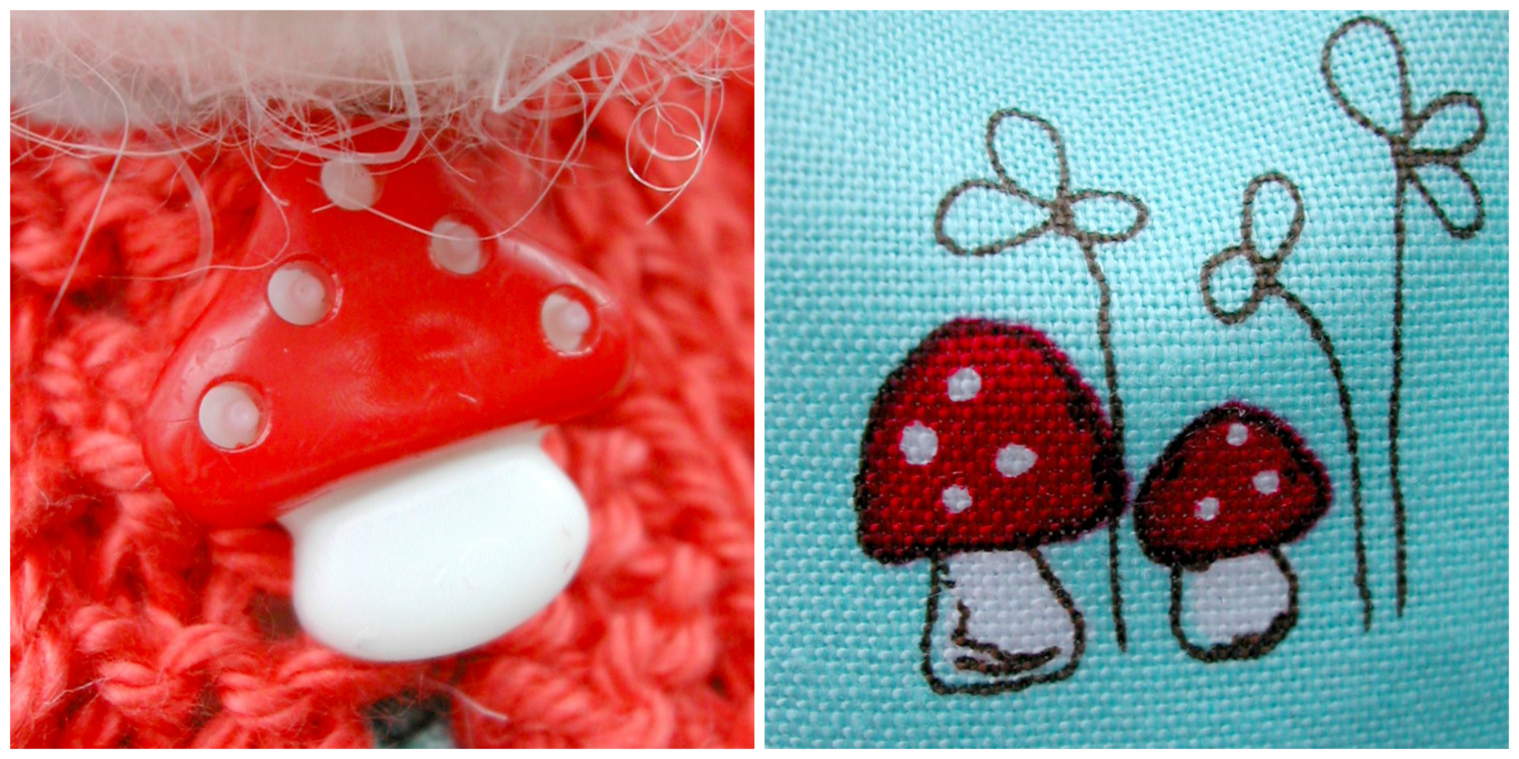 Toadstool Collage