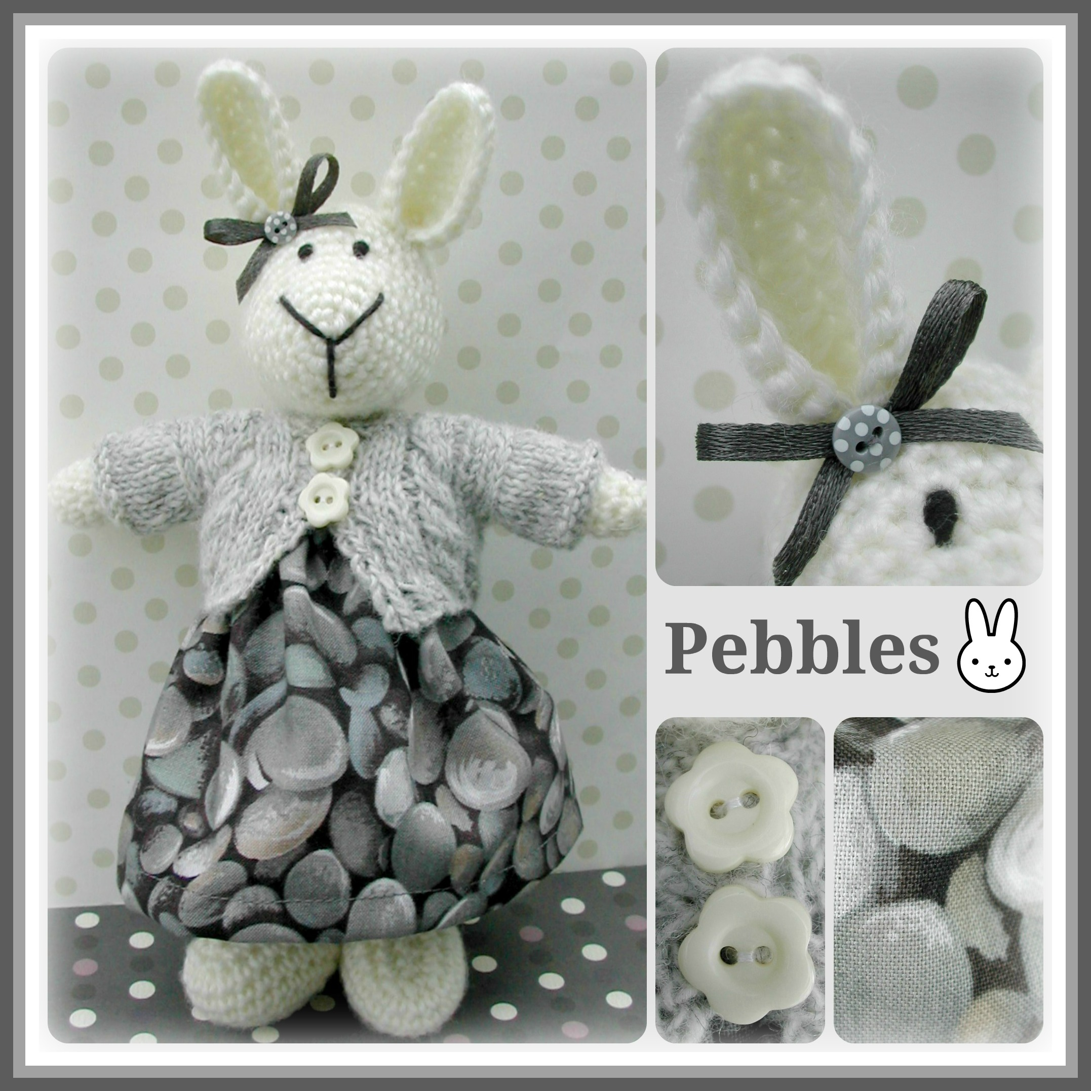 Pebbles Collage