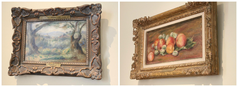 renoir paintings Collage