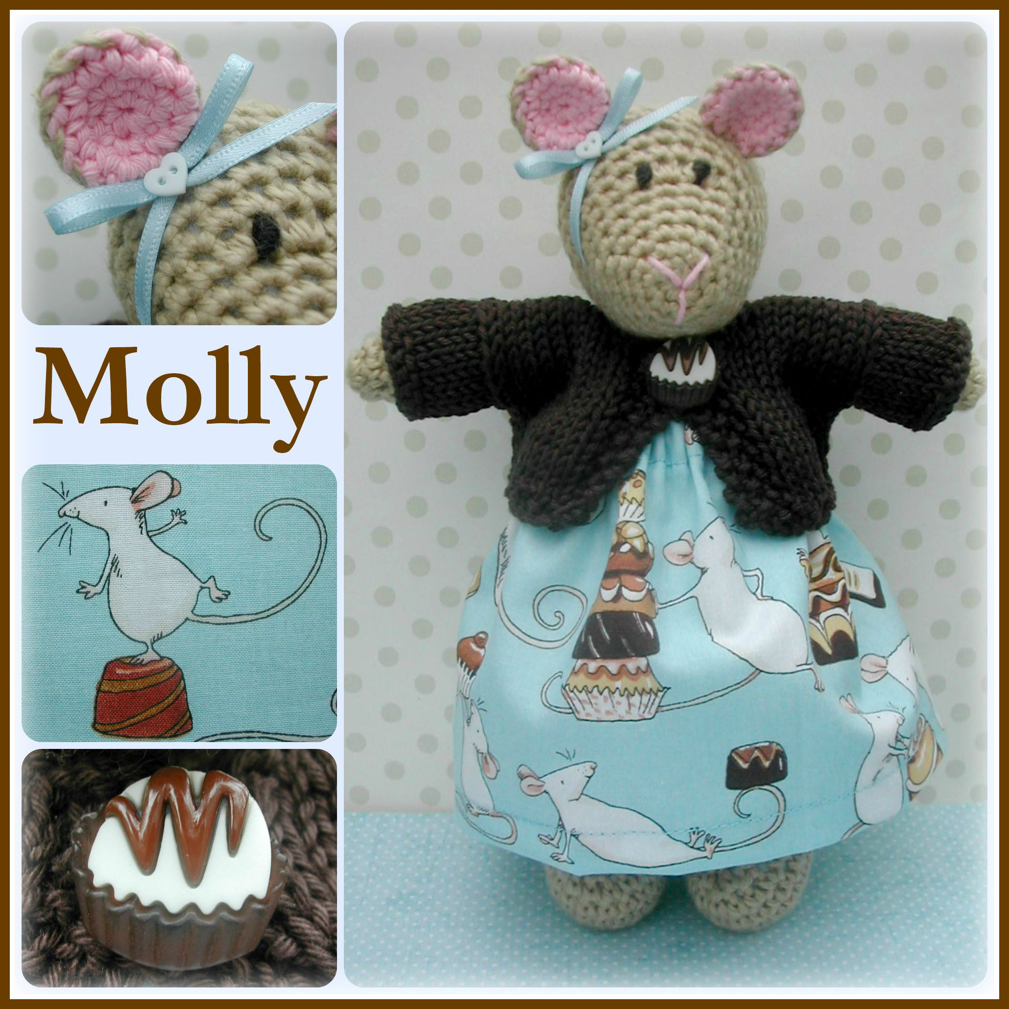 Molly Mouse Collage