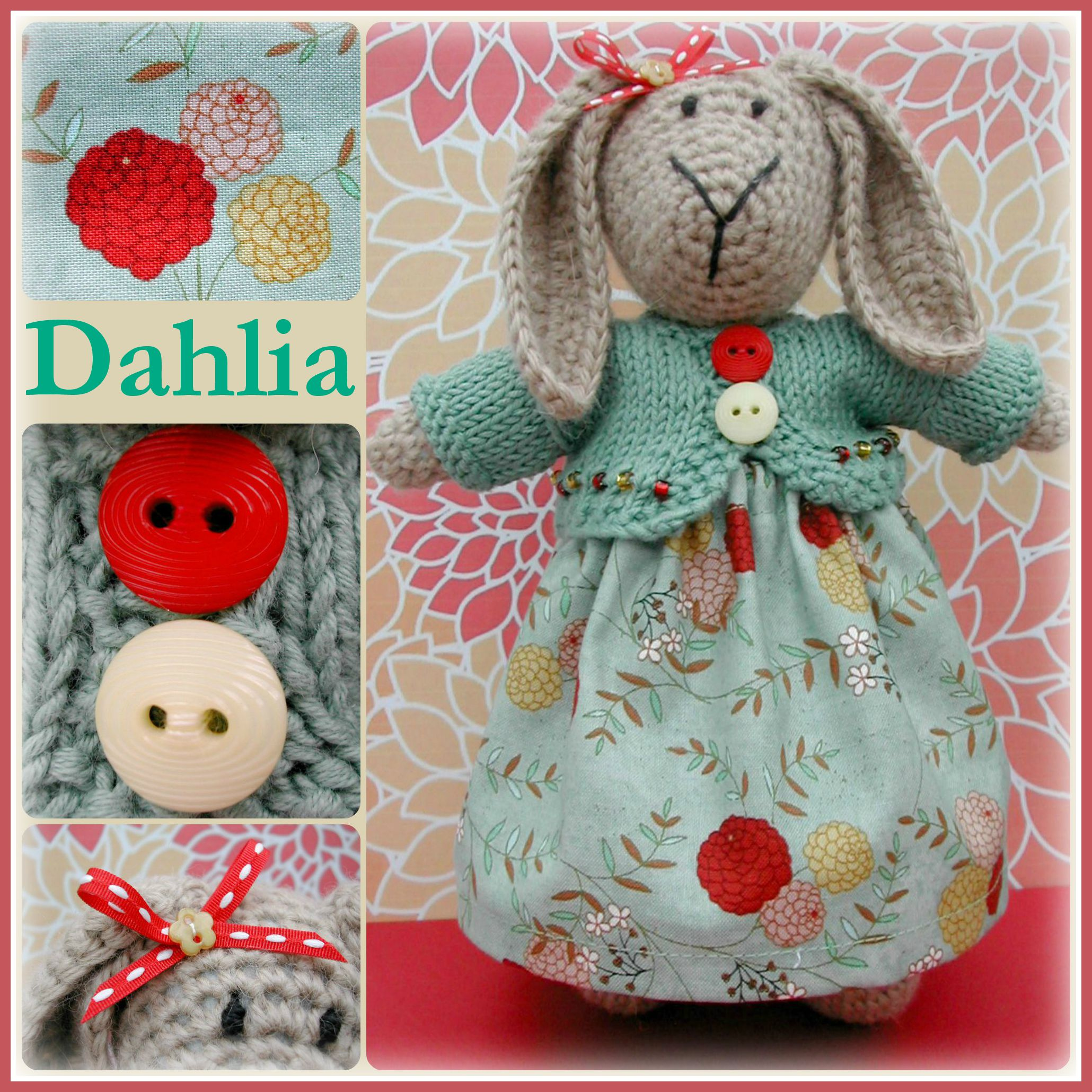Dahlia Collage
